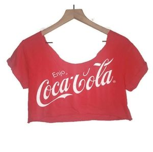 Coca-Cola Crop Top One Size Fits All